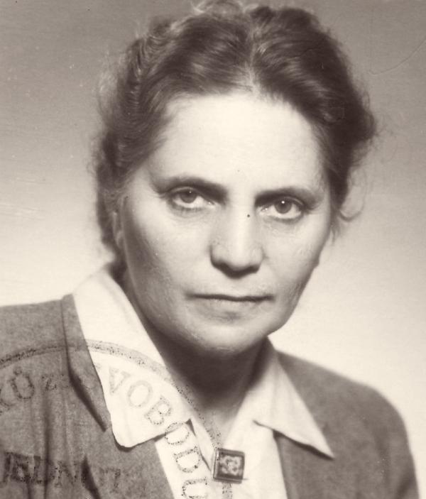 Maminka Raji Růžena Engländerová. Zdroj: Paměť národa
