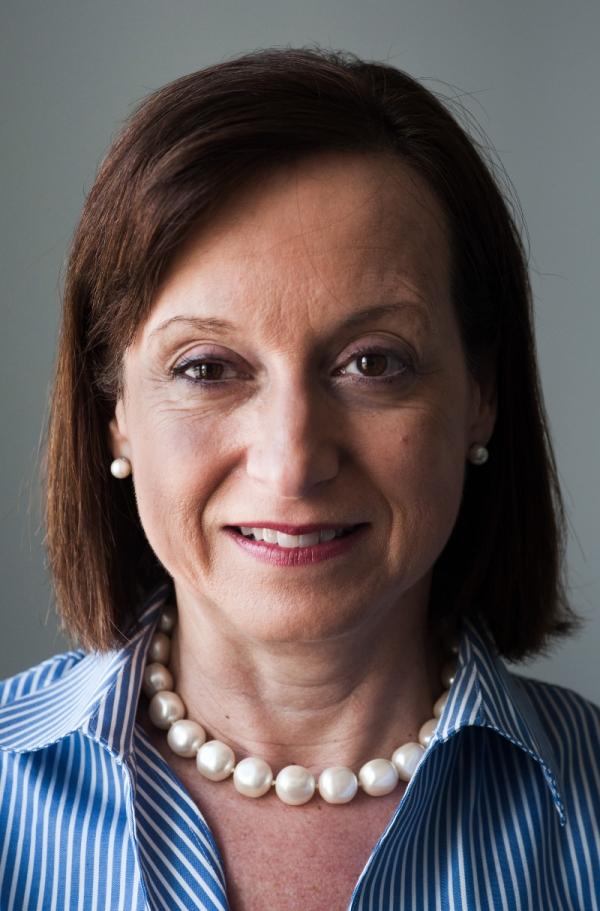 María C. Werlau při natáčení pro Paměť národa v dubnu 2019. Foto: Paměť národa