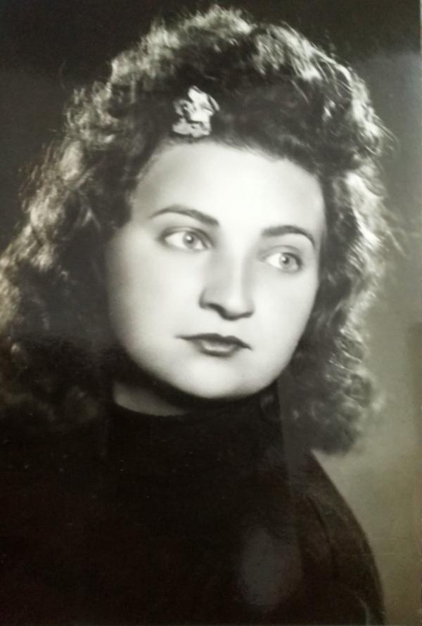 Marie Dubská za války. Foto: Paměť národa
