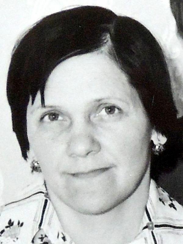 Milena Urbanová v 60. letech. Zdroj: Archiv pamětnice