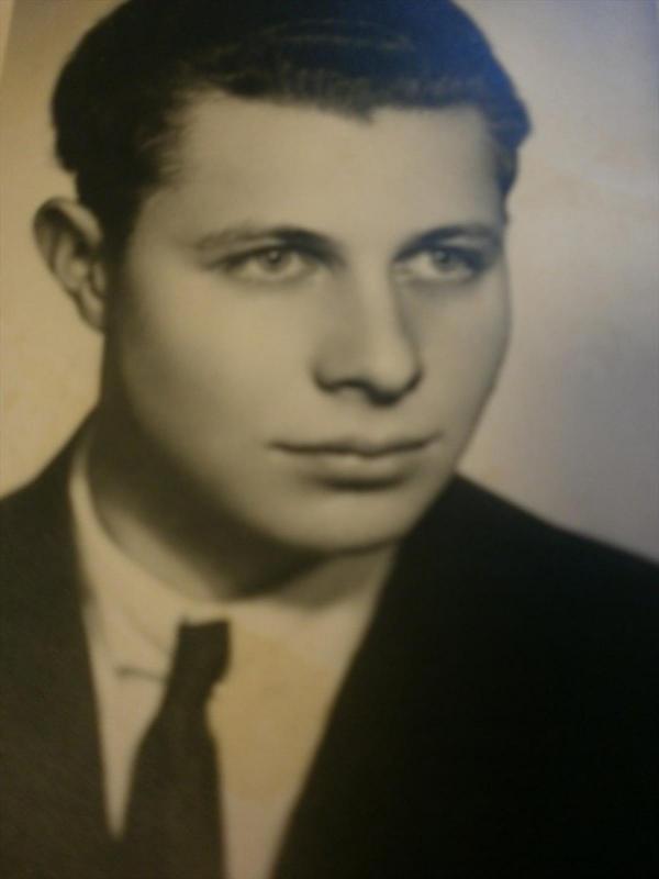 Miloš Kocman v mládí