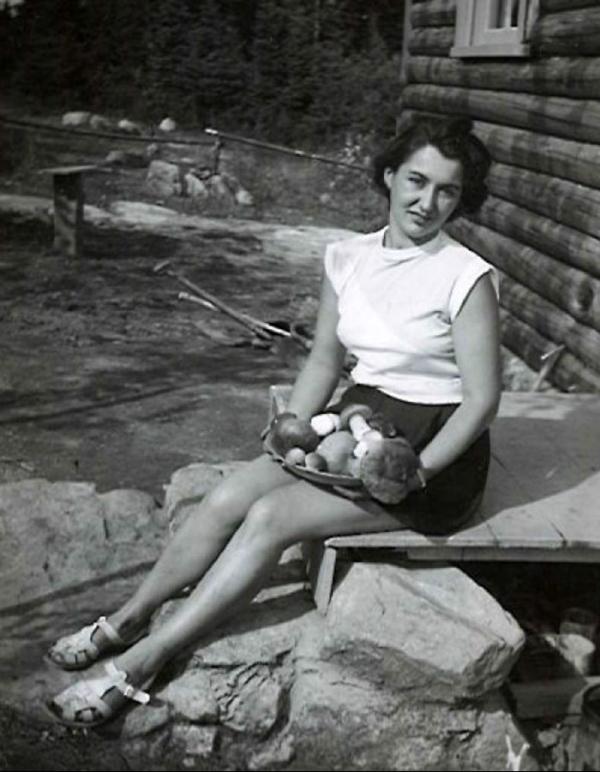 Olga v Kanadě, Quebec 1951.
