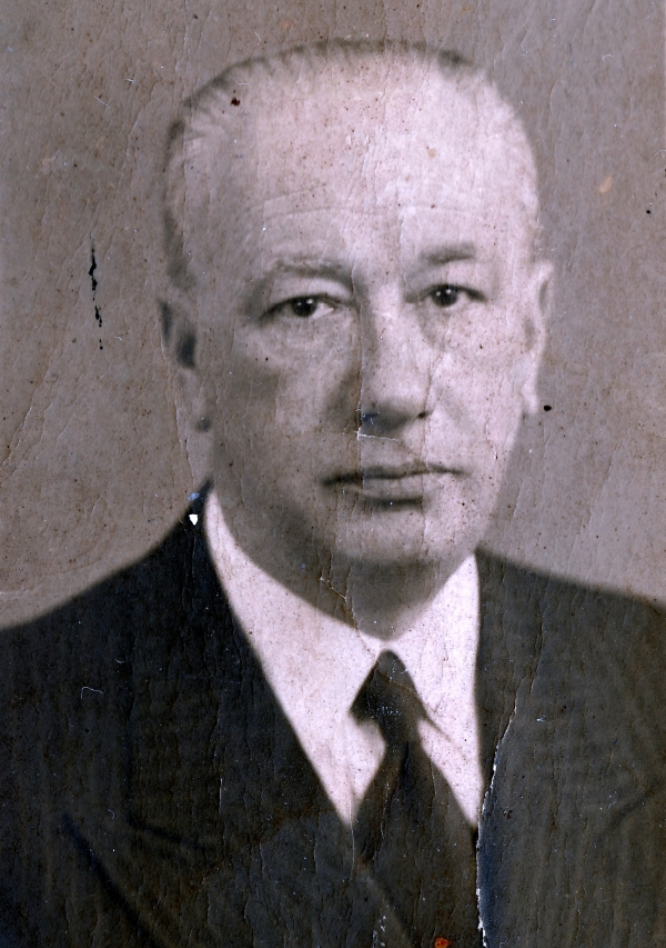 Otec Rudolf Fischl. Zdroj: Archiv pamětníka