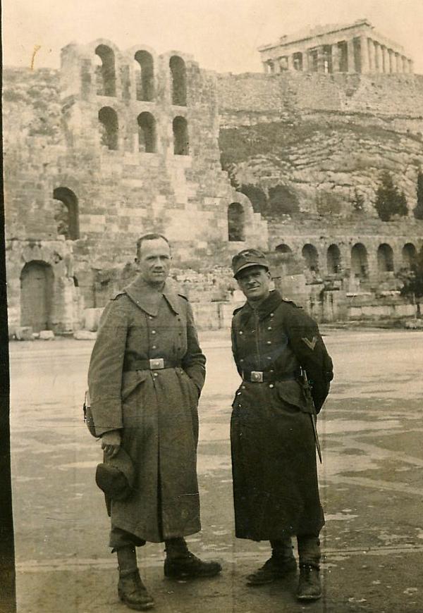 Otec za války. Zdroj: Archiv pamětnice