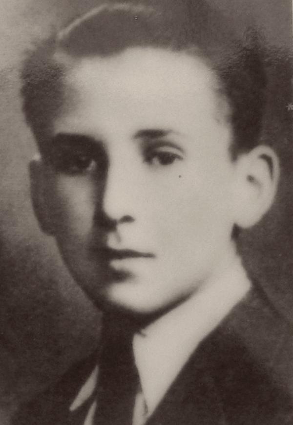 Otto Wolf, v době masakru mu bylo necelých 18 let. Foto: Paměť národa