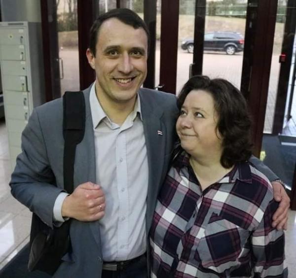 Pavel a Hanna,Zdroj: Facebook se souhlasem majitele účtu