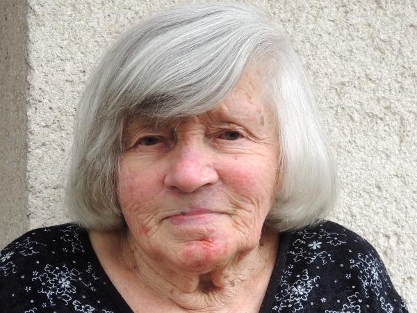 Eliška Pečenková v roce 2021. Zdroj: Post Bellum