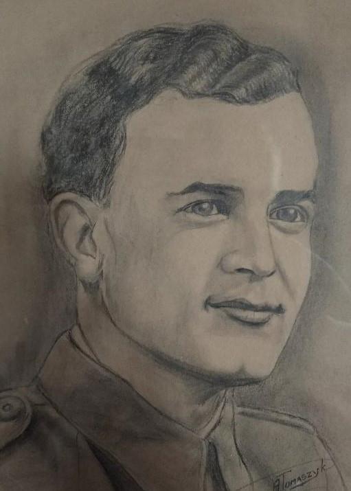 Bohumír Peklo měl na vojně jednu velkou lásku – vojenskou trubku, a tak vykonával i službu trubače.