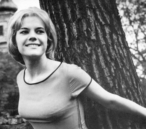 Eva Pilarová v roce 1960, kdy nastoupila do divadla Semafor. Foto: Paměť národa