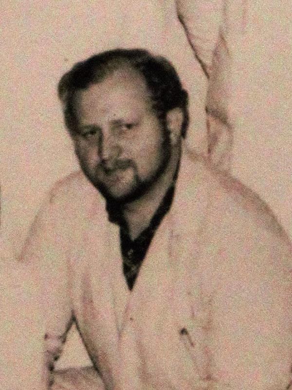 Radomír Janhuba v 80. letech. Zdroj: Archiv pamětníka