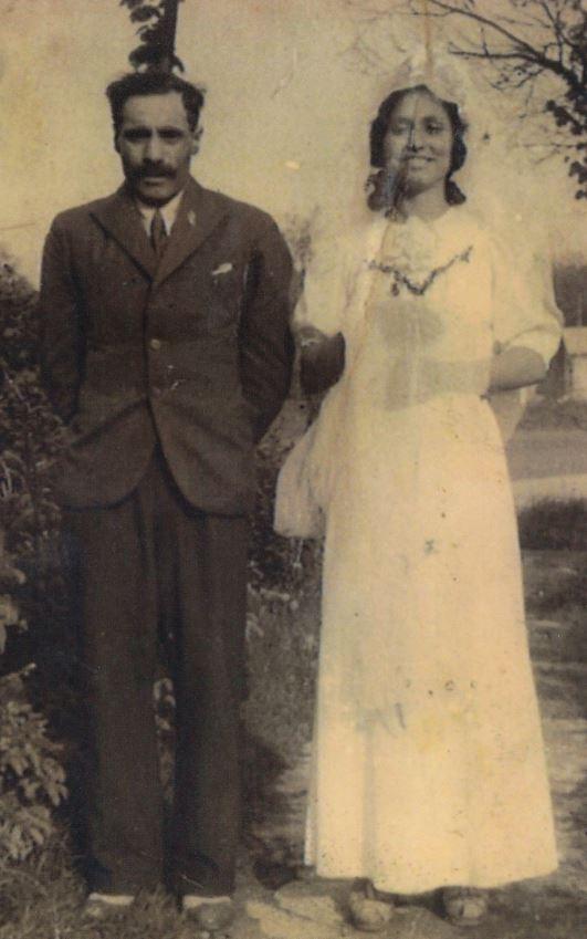 Rodiče Čeňka Růžičky. Foto: Paměť národa