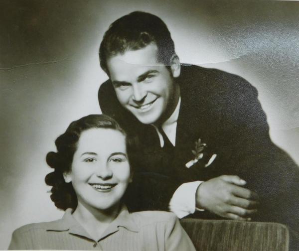 Rodiče Václav a Ludmila Švédovi
