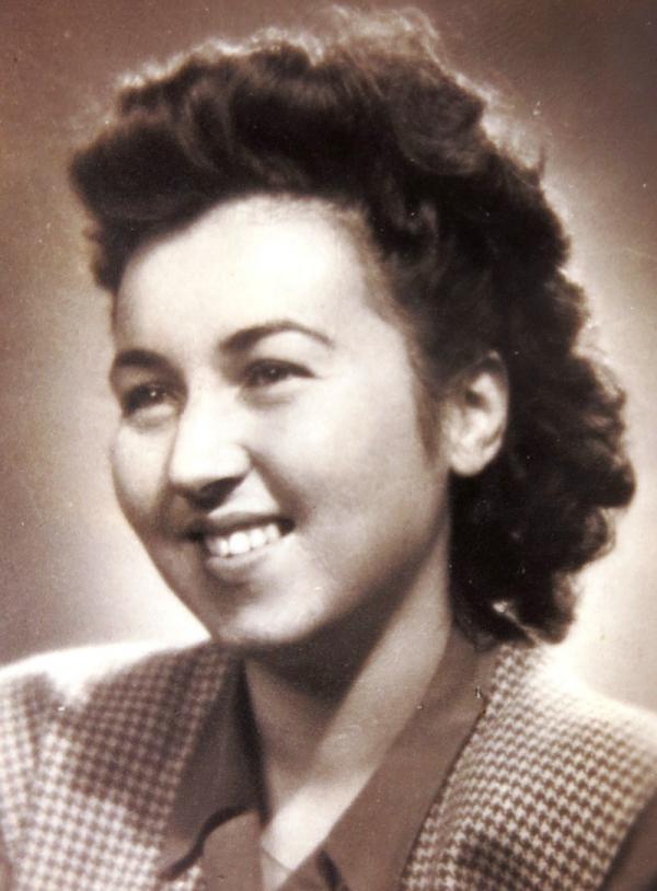 Ruth Mittelmannová po válce.