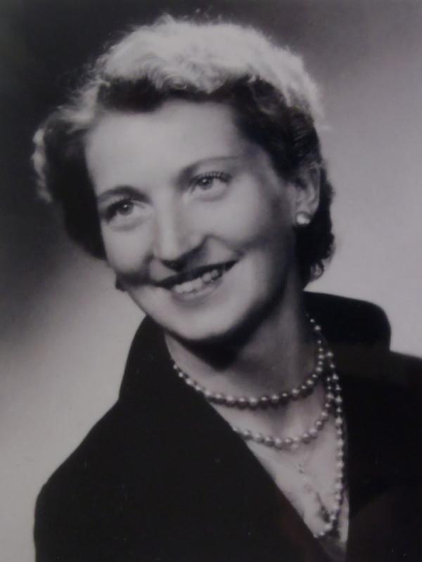 Johanna Sieredzká v roce 1948. Foto: Paměť národa