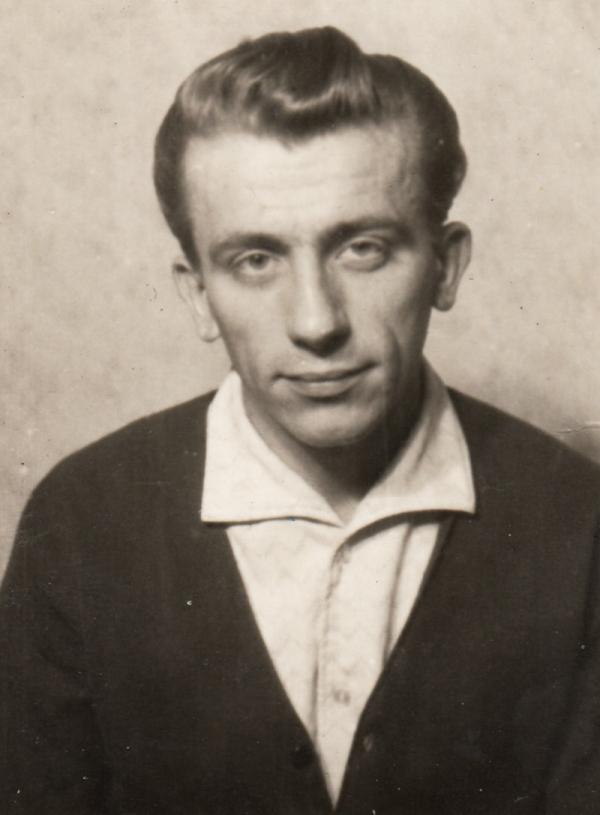 Vladimír Stehlík v roce 1956. Foto: Paměť národa
