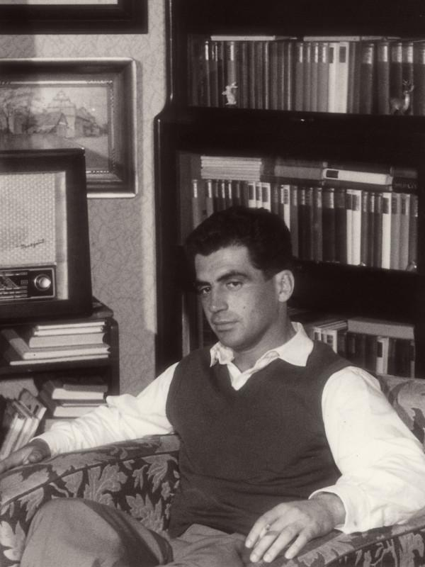 Jiří Stránský po propuštění z vězení v květnu 1960.