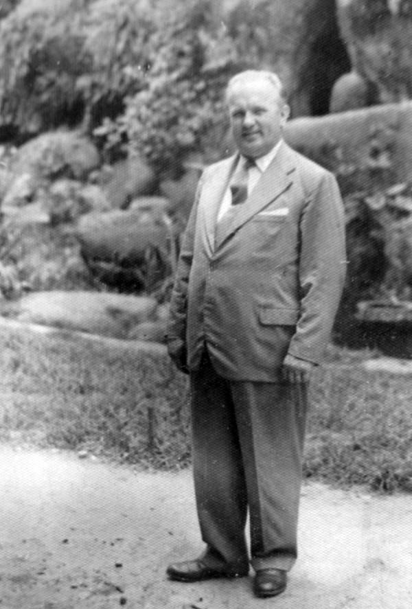 Drogista Miroslav Suchan v Brazílii, kam emigroval před komunisty v říjnu 1948.