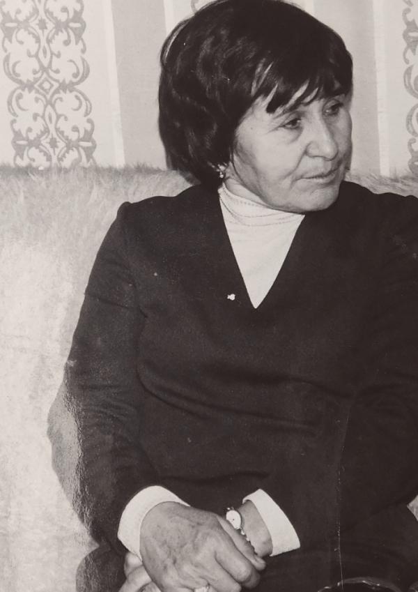 Ludmila Švédová po propuštění z vězení.