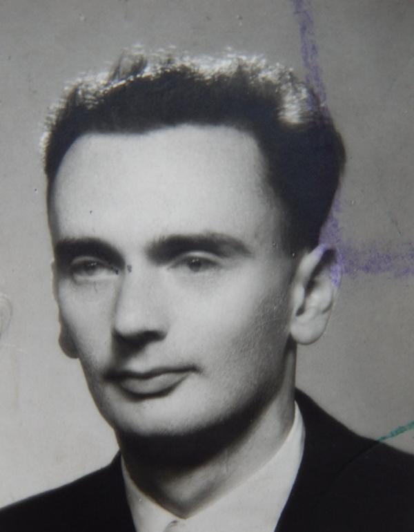 Gabriel Szász po válce. Foto: Paměť národa