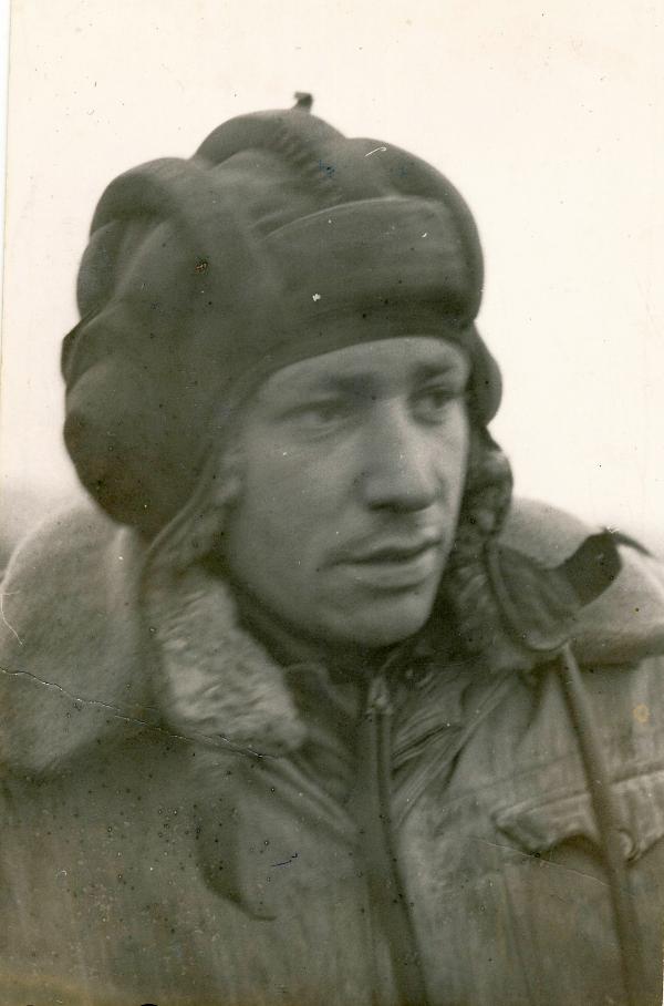 Tadeusz Oratowski jako tankista