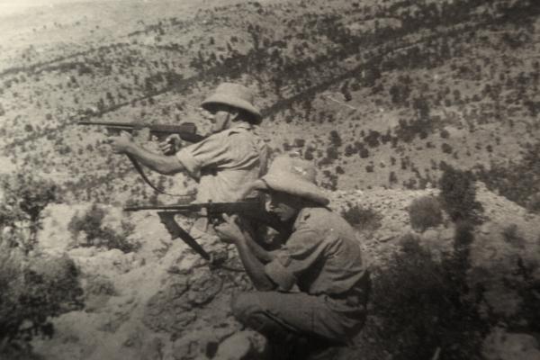 Českoslovenští vojáci bránící Tobruk