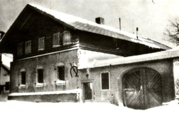 Statek Cyrila Musila ve Studnici. Zdroj: Paměť národa