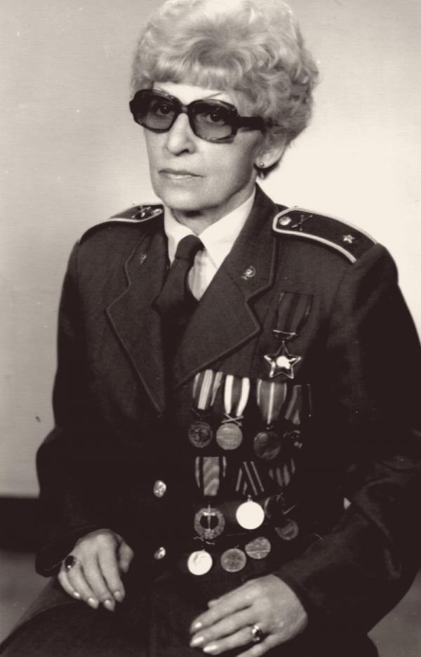 Jiřina Tvrdíková po válce.