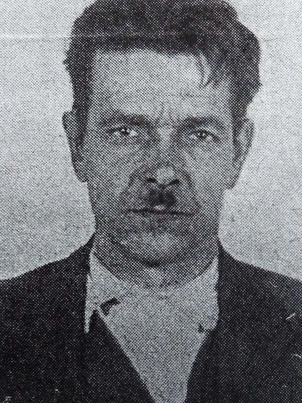 Otec Josef Holiš. Zdroj: Archiv pamětnice