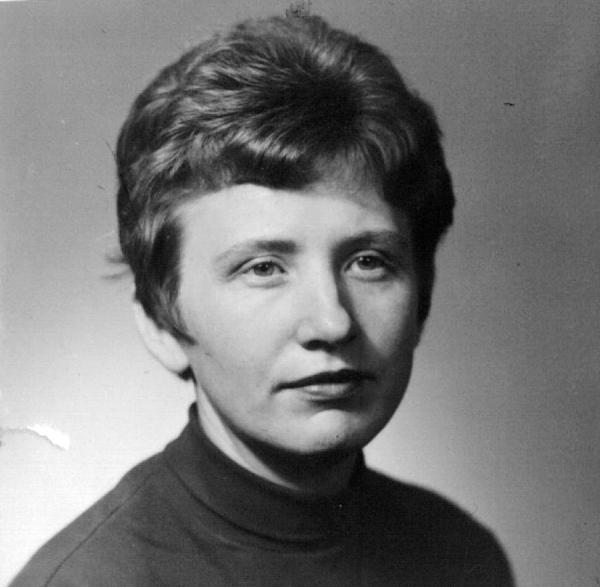 Ludmila Váchalová v mládí