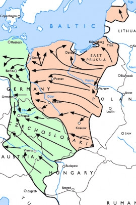 Viselsko-oderská operace byla zahájena 12. ledna 1945.