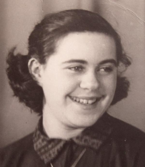 Marie Andělová v roce 1954.