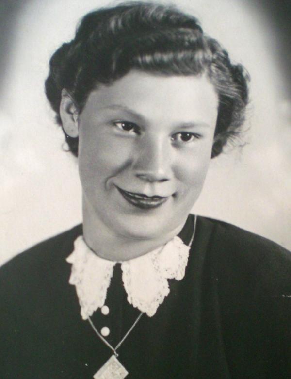 Helena Vovsová v roce 1943. Zdroj: Paměť národa