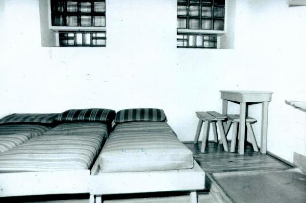 Vyšetřovací vazba v Halle 3. července 1980 – 19. ledna 1981.Zdroj: Archiv pamětnice