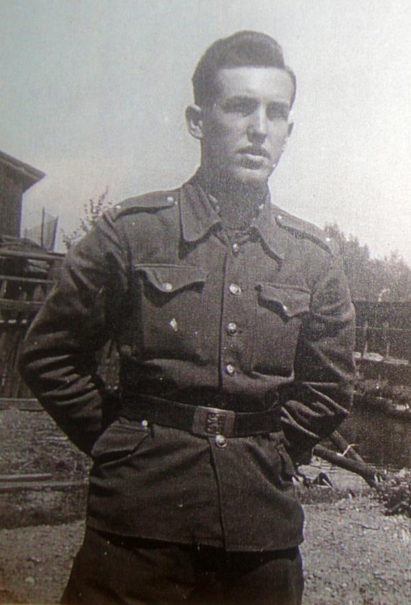 Josef Vyletěl byl po skončení války ještě v červnu 1945 nasazen do prostoru Moravské Ostravy kvůli sporu s Polskem. Foto: Paměť národa
