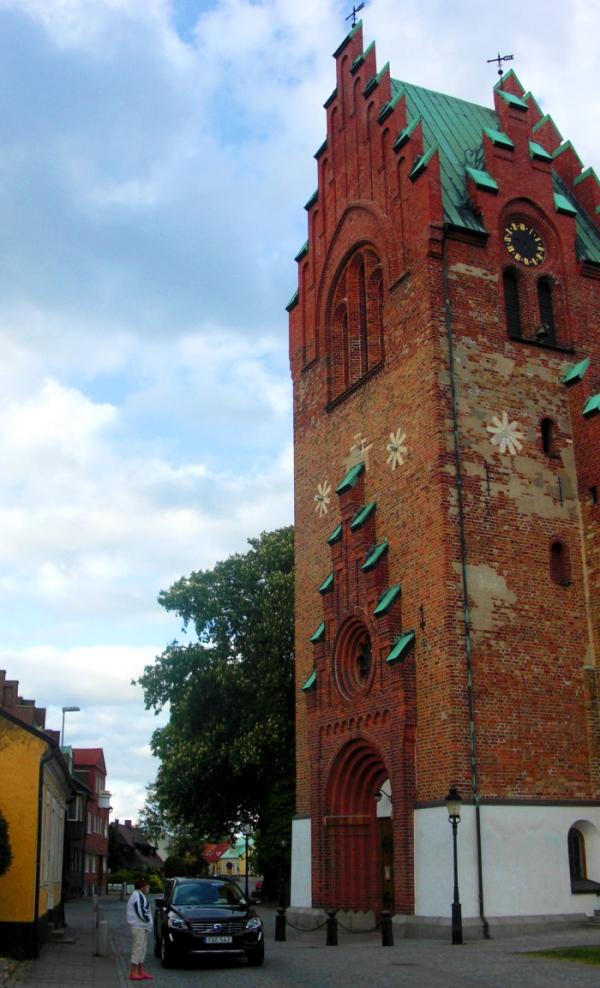 Kostel, ve kterém se ukrýval před kolegy, když v roce 1966 emigroval.