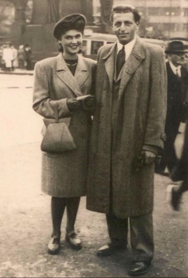 Zuzana a Miloš v září 1946.