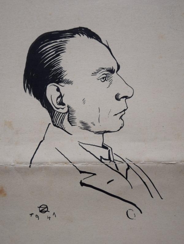 Autoportrét z roku 1941.