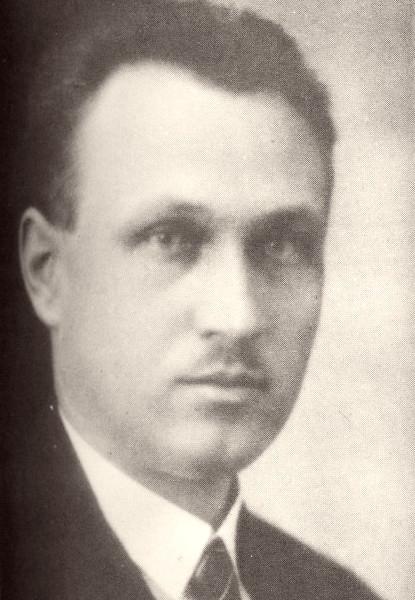 Josef Novotný v době první republiky, kdy vyučoval na gymnáziu v Brně. Zdroj: archív autora