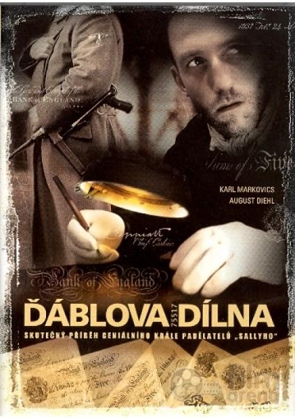 Plakát k filmu Ďáblova dílna (Die Fälscher).