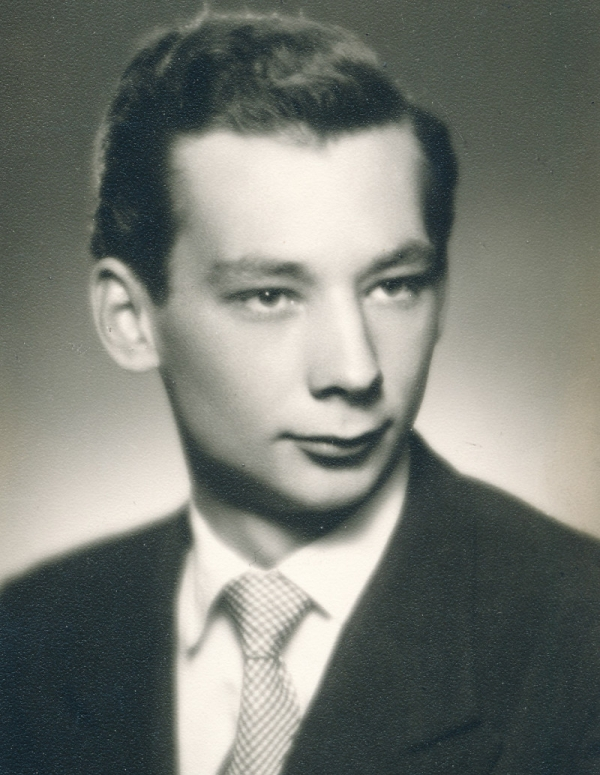 Vladimír Grégr v roce 1949. Zdroj: Paměť národa