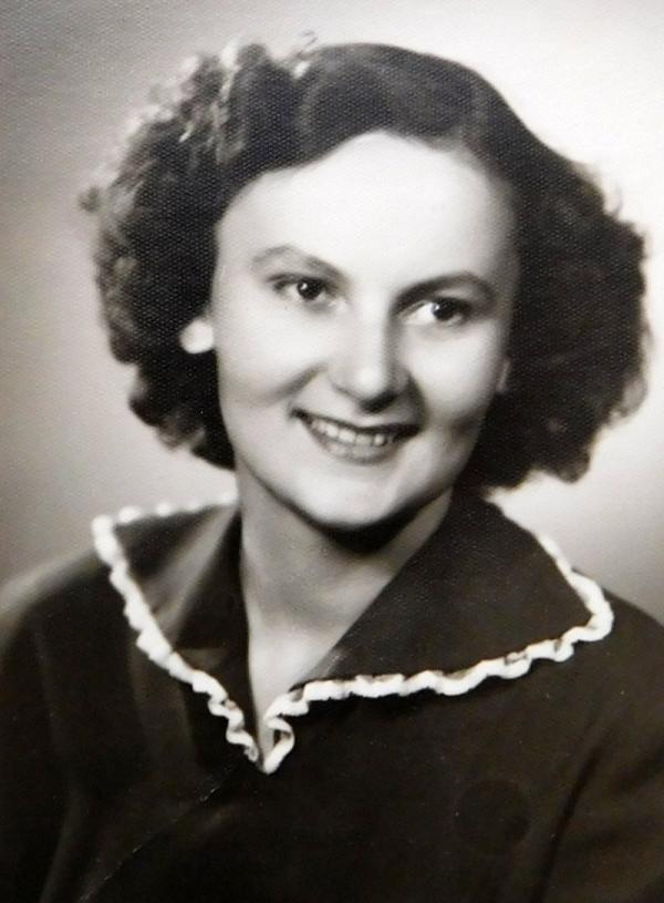 Studentka Květoslava Axmanová. Foto: Paměť národa
