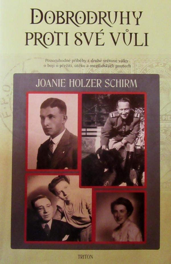 Přebal knihy, o které paní Truncová píše a který nám zaslala.
