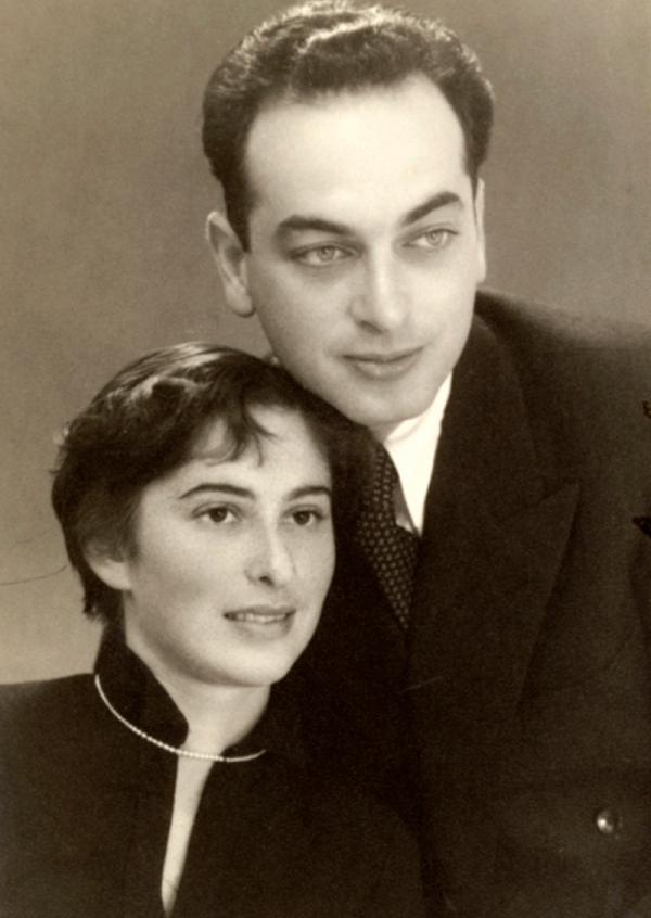 Manželé Pressburgerovi v padesátých letech. Zdroj: Paměť národa