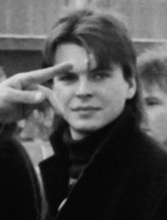 Robert Novák v roce 1989. Foto: Paměť národa