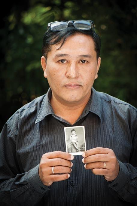 Linn Thant v thajském městě Čiang Mai, kde pracoval jako žurnalista. Foto: Paměť národa