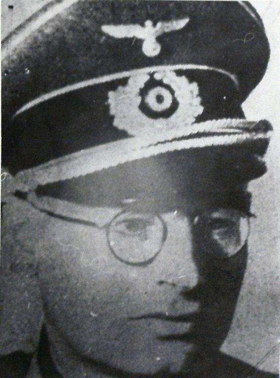 Walter Pavlofski, který vedl v Prlově kruté výslechy.