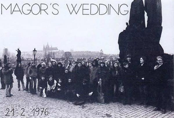 Pozvánka na svatbu Martina Jirouse
