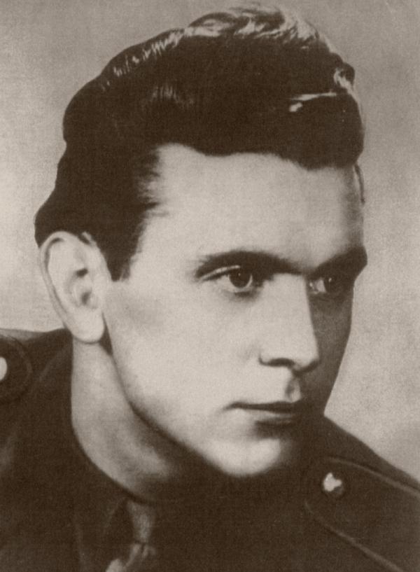Otakar Raulím v mládí. Foto: Paměť národa