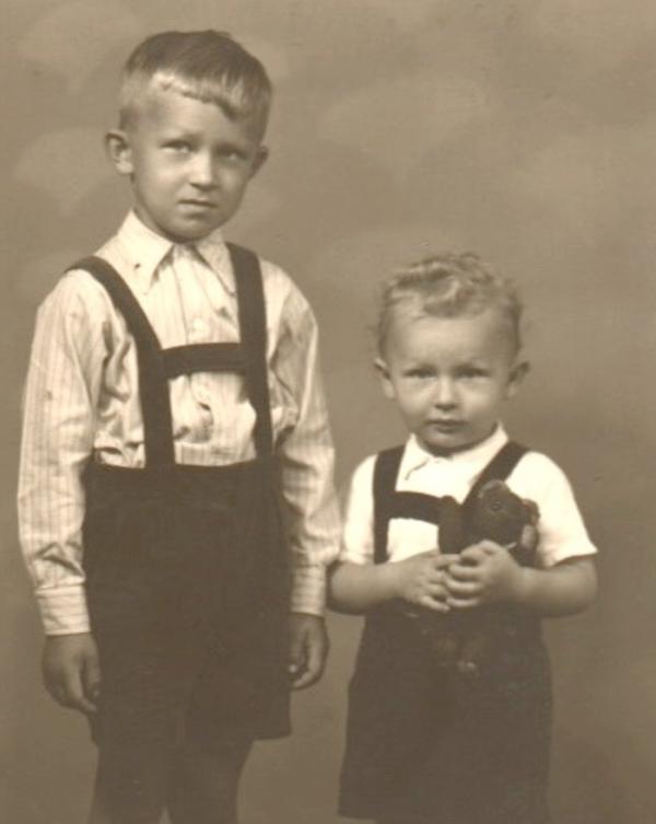 Jiří (vlevo) a Pavel Wonkovi