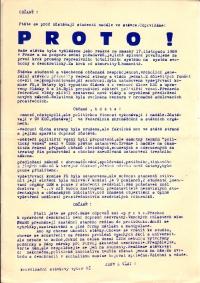 Proč studenti zůstávali ve stávce až do zvolení Václava Havla prezidentem.